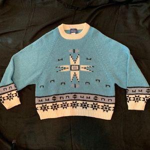 Woolrich Aztec/Southwestern Design Sweater